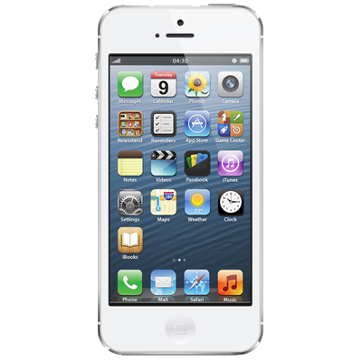 Apple iPhone 5 (16GB White Refurbished Grade A)