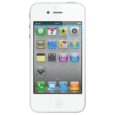 Apple iPhone 4 (8GB White Refurbished Grade A)