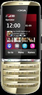 Nokia Asha 300 (Gold)