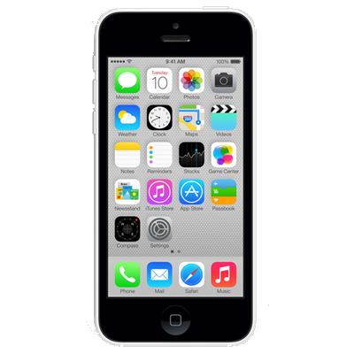 Apple iPhone 5c (32GB White Refurbished Grade A)