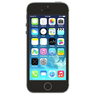 Apple iPhone 5s (16GB Space Grey Refurbished Grade A)