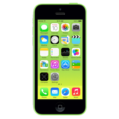 Apple iPhone 5c (32GB Green Refurbished Grade B)