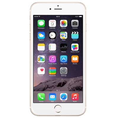 Apple iPhone 6 Plus (16GB Gold Refurbished Grade A)