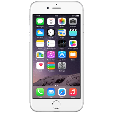 Apple iPhone 6 (64GB Silver Refurbished Grade A)