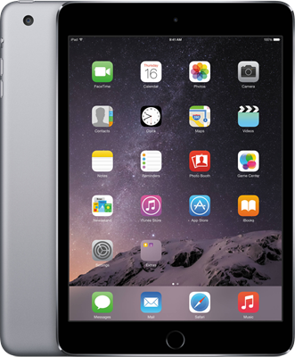 "Compare retail prices of Apple iPad Mini 3 7.9"" (2014) (16GB Space Grey) to get the best deal online"