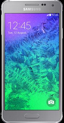 Samsung Galaxy Alpha (Silver)