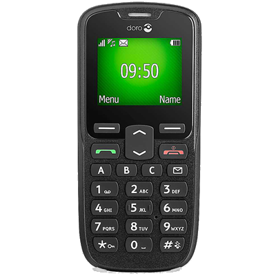 Doro PhoneEasy 508 (Black)
