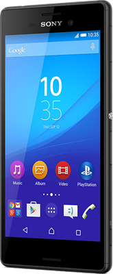 Sony Xperia M4 Aqua (Black Refurbished Grade A)