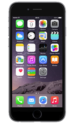 Apple iPhone 6s (128GB Space Grey Refurbished Grade A) at £489.99 on International SIM with 200MB of 4G data. Extras: Top-up required: £15.