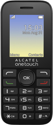Image of Alcatel Onetouch 10.16G (Black) at £4.99 on Pay As You Go Data Pack with 10 mins; 10 texts; 100MB of 4G Double-Speed data. Extras: Top-up required: £10.
