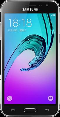 Samsung Galaxy J3 (2016) (8GB Black Refurbished Grade A)
