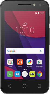 Compare retail prices of Alcatel Pixi 4 (4) (4GB Black Refurbished Grade A) to get the best deal online