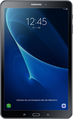 Samsung Galaxy Tab A 10.1 (2016) (8GB Metallic Black)
