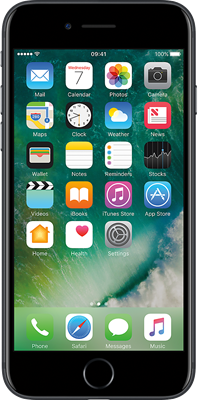 Apple iPhone 7 (256GB Black Refurbished Grade A)