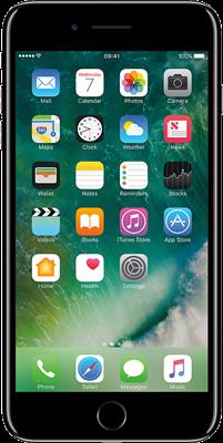 Apple iPhone 7 Plus (256GB Jet Black Refurbished Grade A)