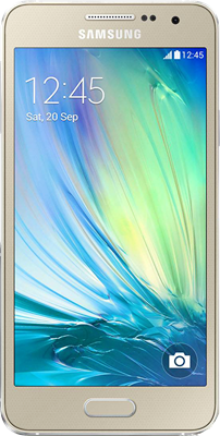 Samsung Galaxy A3 2017 (16GB Golden Sand Refurbished Grade A) at £199.00 on Big Bundle 20GB with 5000 mins; 5000 texts; 20000MB of 4G data. Extras: Top-up required: £30.
