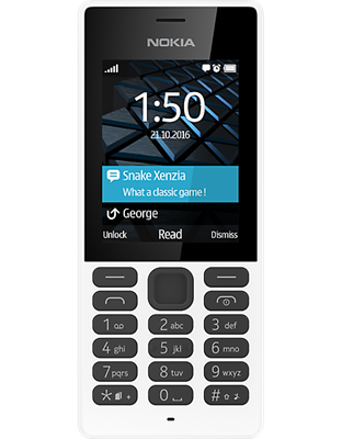 Compare retail prices of Nokia 150 (White) to get the best deal online