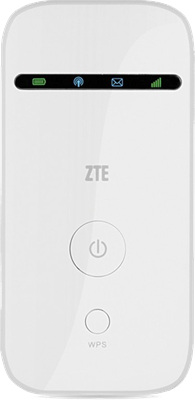 ZTE MF65 O2 Pocket Hotspot (White)