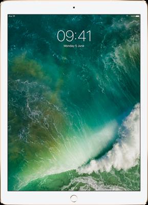 "Apple iPad Pro 12.9"" (2017) (64GB Gold)"