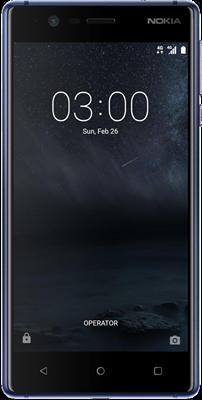 Nokia 3 (16GB Tempered Blue)