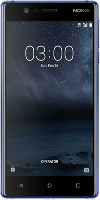 Nokia 3 (16GB Tempered Blue Refurbished Grade A) at £69.00 on International SIM with 100MB of 4G data. Extras: Top-up required: £10.