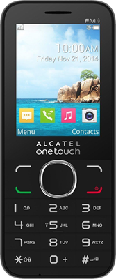 Compare retail prices of Alcatel Onetouch 20.45X (Black) to get the best deal online