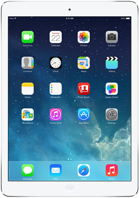 "Buy Brand New Apple iPad Air 9.7"" (2013) WiFi Only (32GB Silver)"