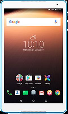 Compare prices for Alcatel A3 10 (16GB White & Blue Refurbished Grade A)