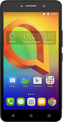 Image of Alcatel A2 XL (8GB Black) at £96.99 on No contract.