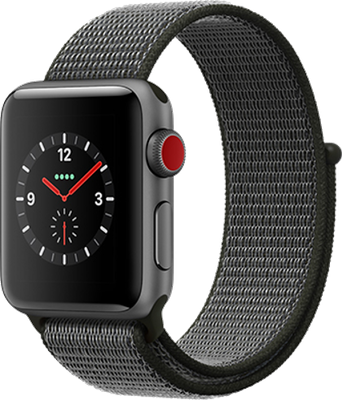 Apple Watch Series 3 42mm Aluminium Case with Dark Olive Sport Band (Space Grey) cheapest retail price