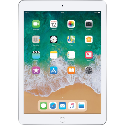 "Apple iPad 9.7"" (2018) (128GB Silver)"