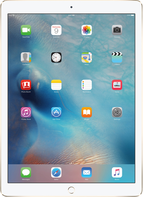 "Image of Apple iPad 9.7"" (2018) (128GB Gold) at £54.99 on MBB Max 20GB (24 Month(s) contract) with 20000MB of 4G Triple-Speed data. £45.00 a month."