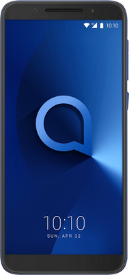 Alcatel 3 (16GB Spectrum Blue) at £99.00 on International SIM with 200MB of 4G data. Extras: Top-up required: £15.