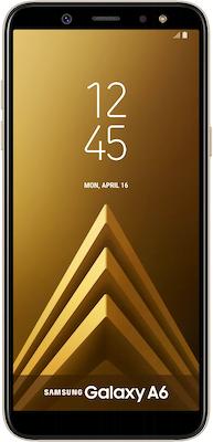 Samsung Galaxy A6 (32GB Gold) on Essential 30GB...