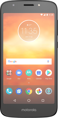 Moto E5 Play (16GB Black) at £80.00 on Big Bundle 2GB with 500 mins; 5000 texts; 2000MB of 4G data. Extras: Top-up required: £10.