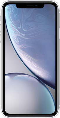 Apple iPhone XR (64GB White) at £749.00 on Big Bundle UK & International 8GB with 1000 mins; 5000 texts; 8000MB of 4G data. Extras: Top-up required: £20.