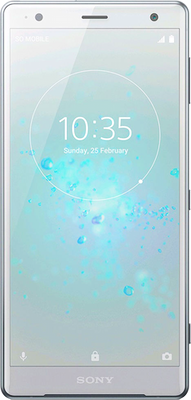 Sony Xperia XZ2 (64GB Liquid Silver) at £659.00 on Big Bundle 10GB with 3000 mins; 5000 texts; 10000MB of 4G data. Extras: Top-up required: £25.