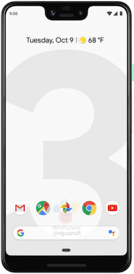 Google Pixel 3 (64GB Clearly White)