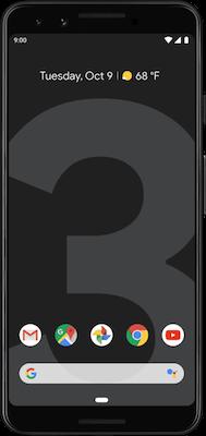Google Pixel 3 (64GB Just Black)