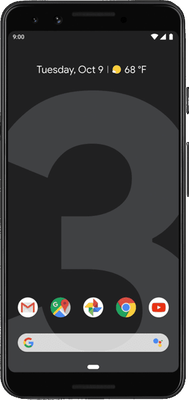 Google Pixel 3 (128GB Just Black)