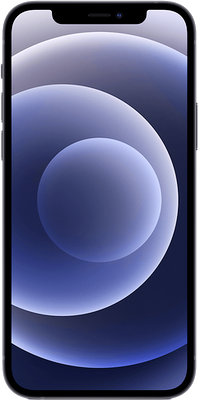 Black Apple iPhone 12 5G 256GB - 0GB Data, £29.00 Upfront£33.00 off for 6 months