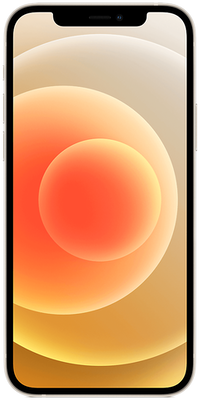 White Apple iPhone 12 5G 128GB - 0GB Data, £210.00 Upfront£27.00 off for 6 months
