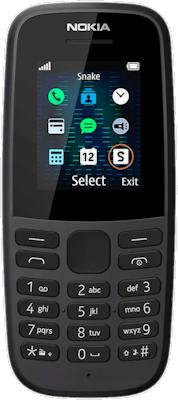 Nokia 105 2019 Black