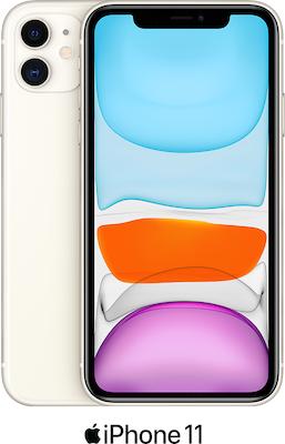 White Apple iPhone 11 64GB - 100GB Data, £29.00 Upfront