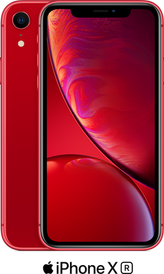 Red Apple iPhone XR 64GB - 100GB Data, £29.00 Upfront