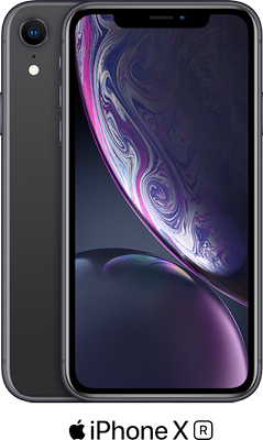 Black Apple iPhone XR 64GB - 100GB Data, £29.00 Upfront