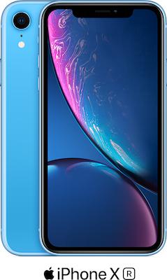 Blue Apple iPhone XR 64GB - 100GB Data, £29.00 Upfront