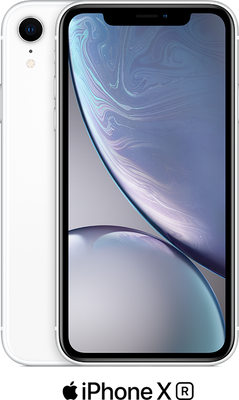White Apple iPhone XR 64GB - 100GB Data, £29.00 Upfront