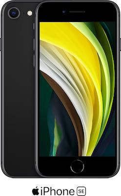 Black Apple iPhone SE 64GB - 100GB Data, £29.00 Upfront