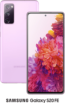 Purple Samsung Galaxy S20 FE 4G 128GB with free Samsung Galaxy Earbuds Live (Black) - Unlimited Data, £29.00 Upfront50% off...